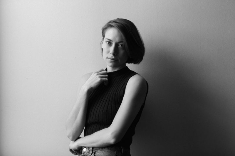 Anna Burch black and white PR photo 2018 by Ebru Yildiz