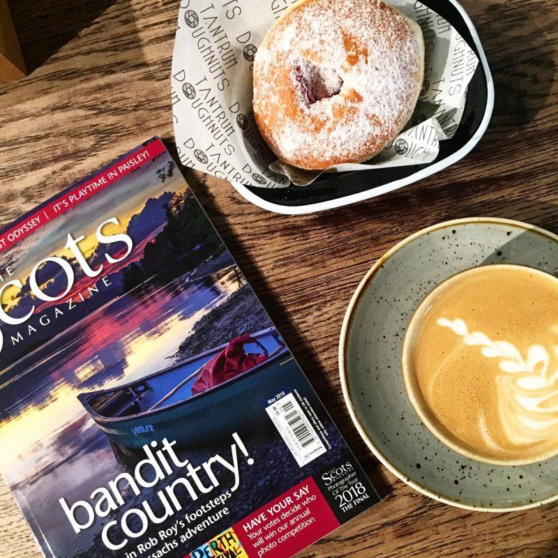 Coffee, Tantrum Doughnuts and The Scots Magazine