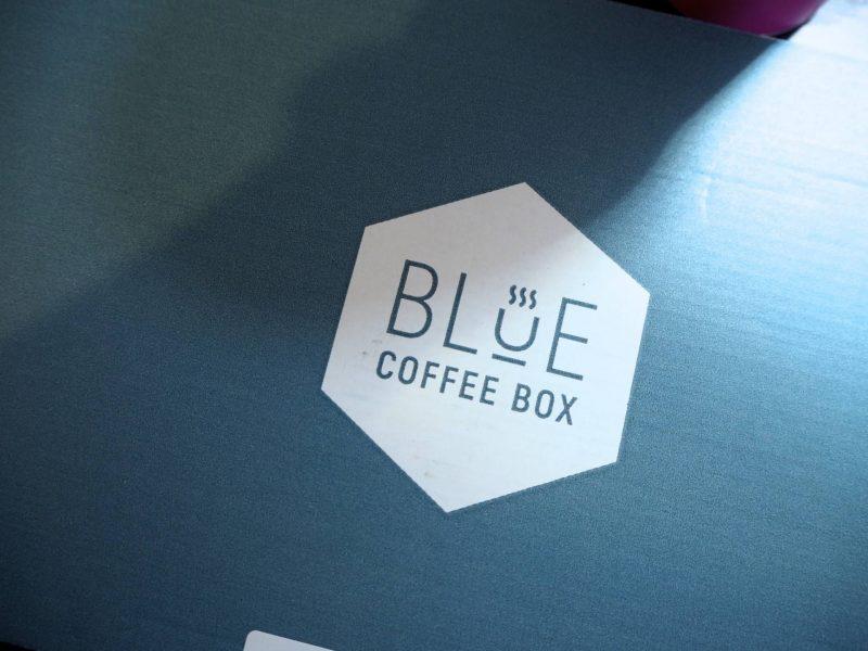 Blue Coffee Box artisan coffee subscription box logo