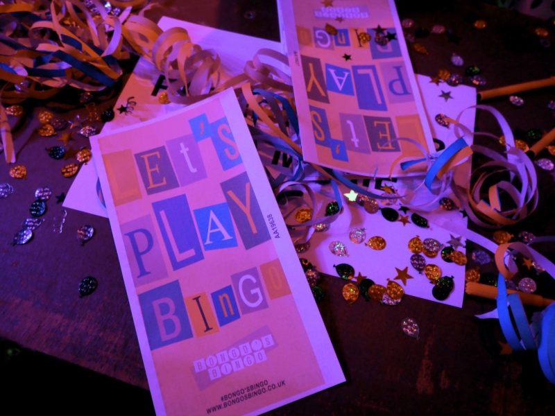 Bongos Bingo Glasgow bingo books