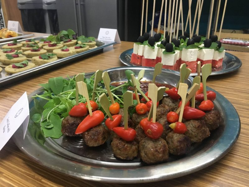 Soul Food Sisters catering at Craft56 drink tasting event, Glasgow