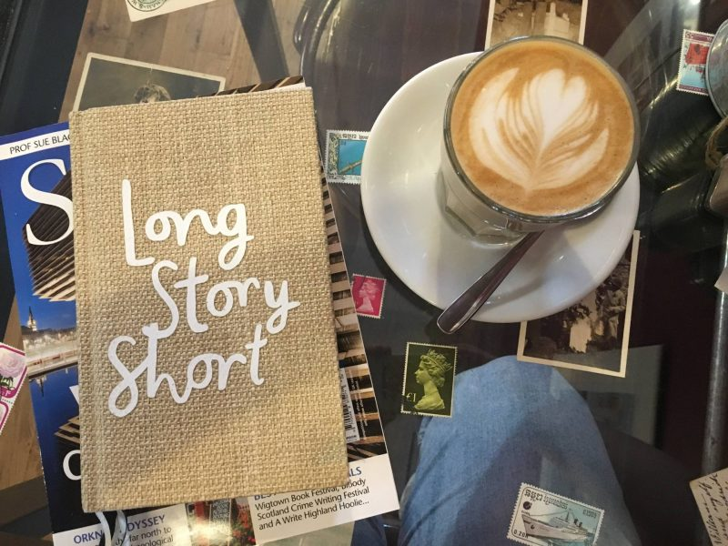 Coffee and journalling at Singl-end Merchant City, Glasgow
