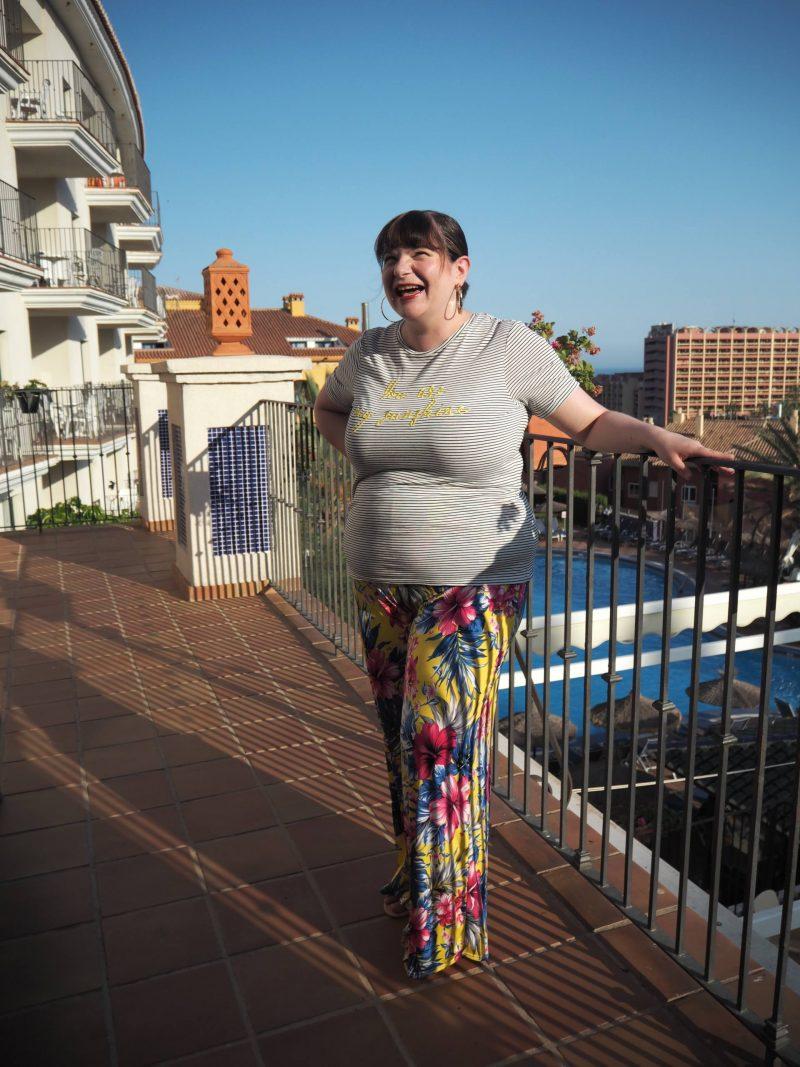 Pink Clove summer holiday lookbook - Jania wide leg floral print trouser