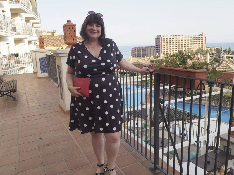 Pink Clove summer holiday lookbook - Sammy wrap front skater dress