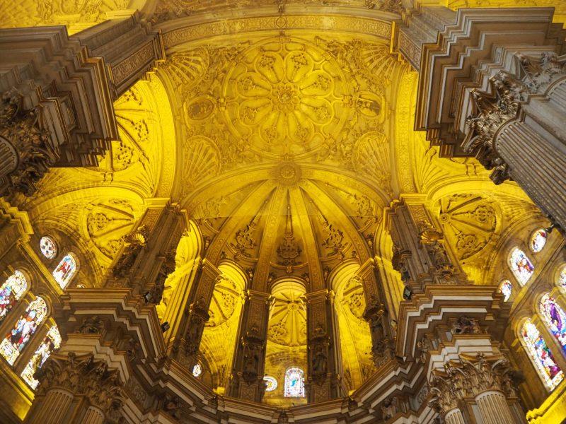 24 hours in Malaga - Malaga Cathedral interior