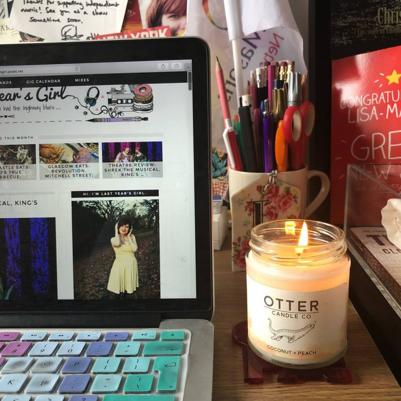Why I talk about my mental health at work - my home office