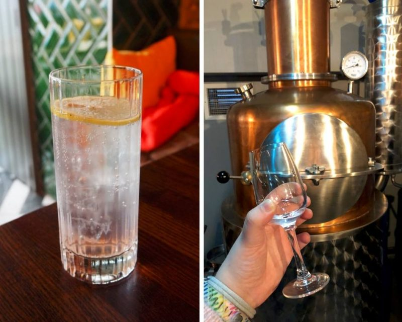 #ccwbloggerroadtrip A/W18 - Felons gin and tonic and gin still