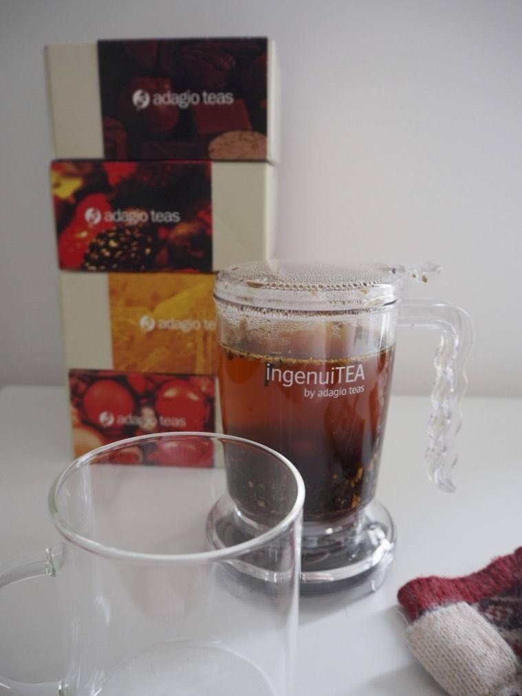 Adagio Teas boxed loose leaf tea and Ingenuitea tea maker review