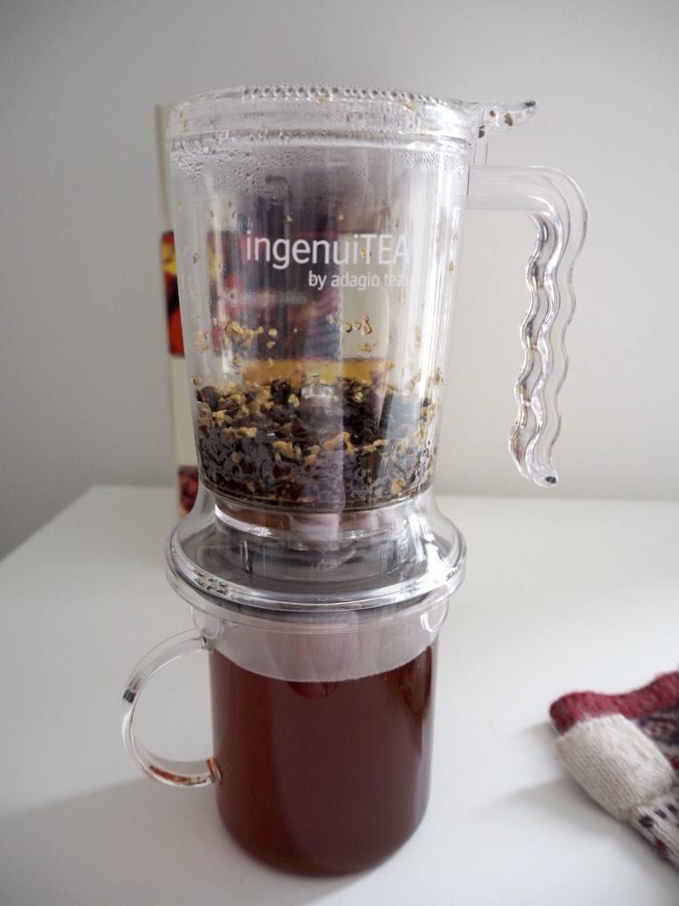 Adagio loose leaf tea and IngenuiTEA teapot review