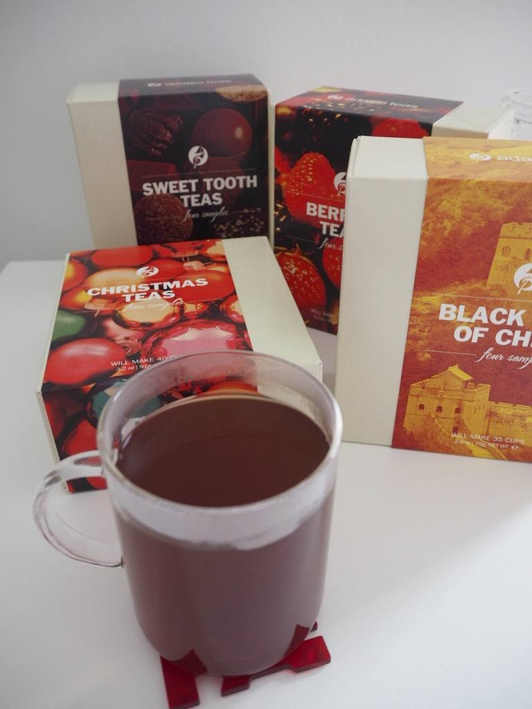 Adagio Teas loose leaf tea sampler gift boxes