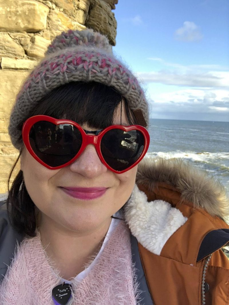 #ccwbloggerroadtrip A/W18: Lis in Barts Accessories bobble hat at Lady's Tower, Elie