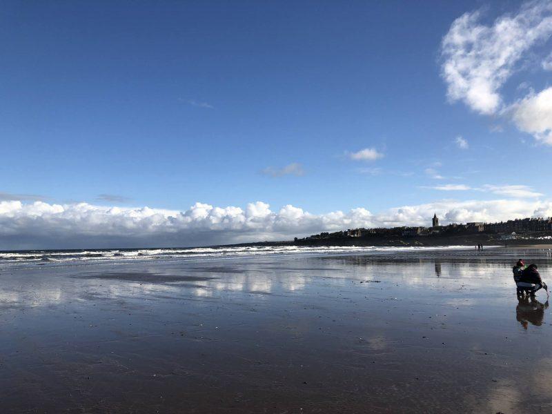 #ccwbloggerroadtrip A/W18 - St Andrews Beach