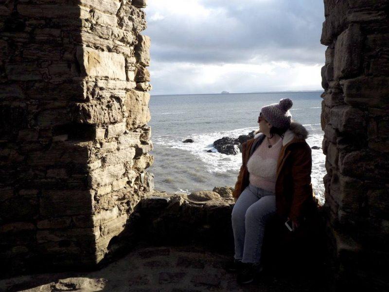 #ccwbloggerroadtrip, A/W18: Last Year's Girl in Lady Tower, Elie Beach, Fife