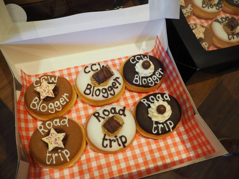 #ccwbloggerroadtrip A/W18: branded doughnuts from Nic's NYC Deli, Glasgow