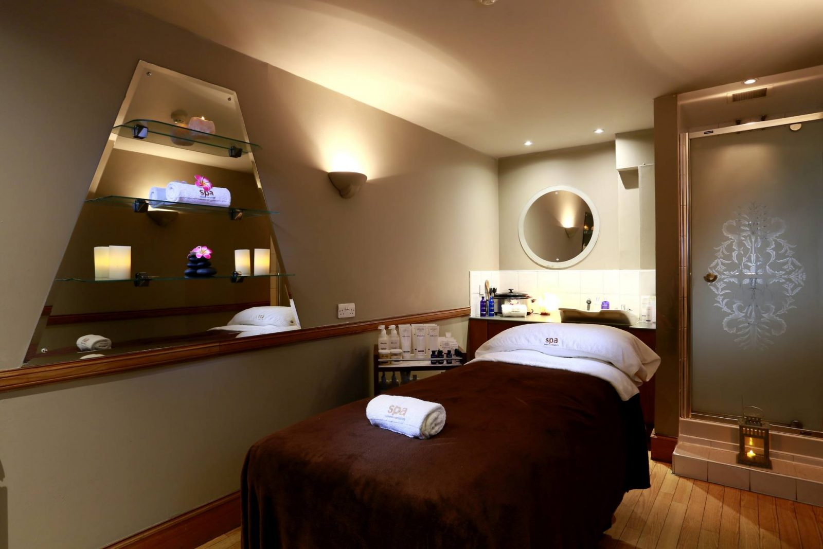 a festive spa day with macdonald crutherland house hotel;