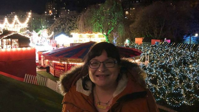 Last Year's Girl at Edinburgh's Christmas 2018