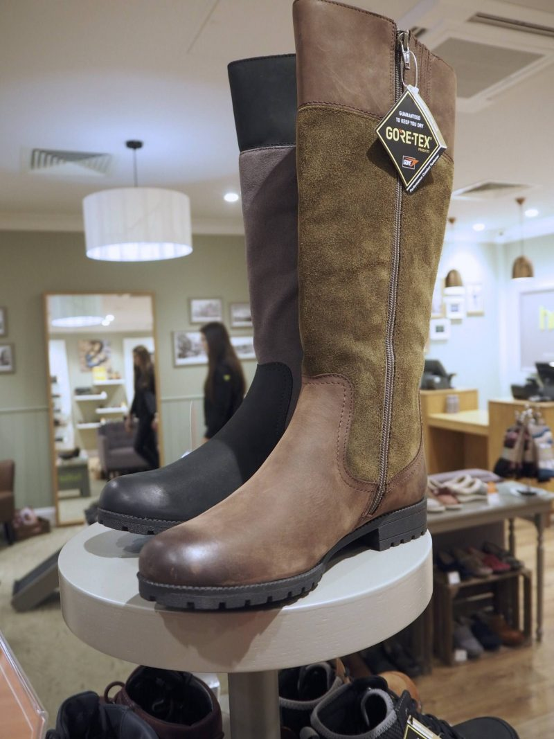 Hotter Glasgow new shop review - walking boots